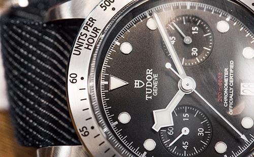 如何保养帝舵手表橡胶表带